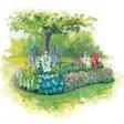 Гостиница Балтия - иконка «сад» в Фирово